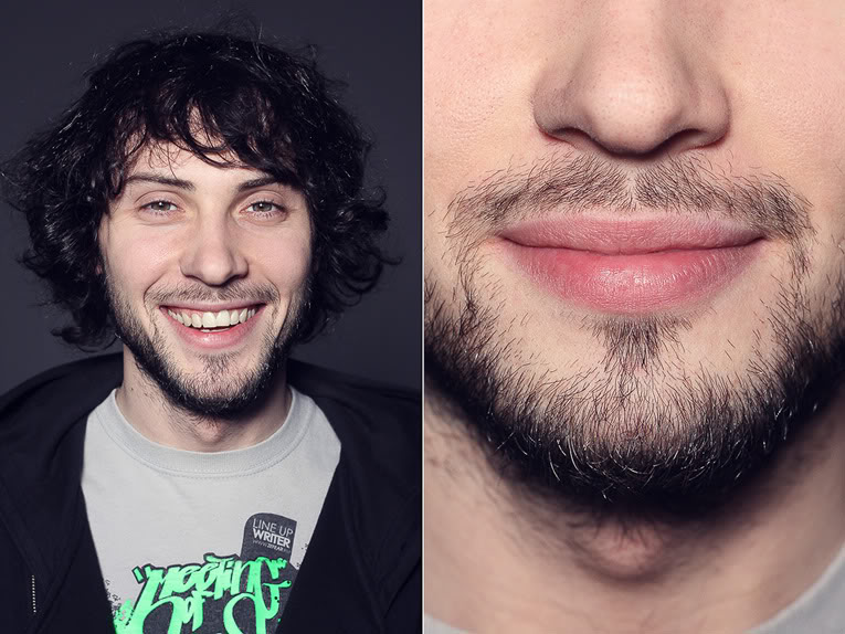 мужчина с короткой бородой