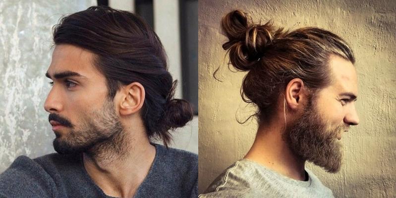 мужские стрижки на длинные волосы с бородой